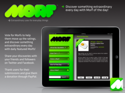 MORF App for iPad