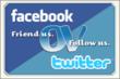 Friend us. Follow us.