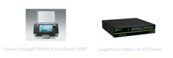 Canon imageFORUMULA ScanFront 300P & Sagemcom OpenLine PR Server