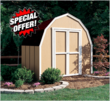 Shed Liquidators 8x8 Shed