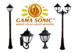 Pagoda Solar Lamp Post Lights