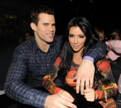 Kim Kardashin and Kris Humphries