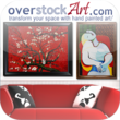 overstockArt.com iPhone App - View Art in Room Icon