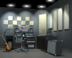 London Room Kit in a studio.
