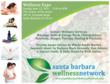 Flyer for Santa Barbara Wellness Expo