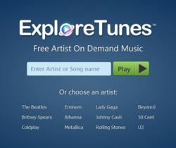 web free music player MP3 videos