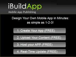 build a mobile app with iBuildApp