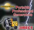 Top Portable Professional Generators @ Electric Generators Direct