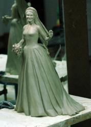 Clay Model of Catherine Royal Bride Figurine