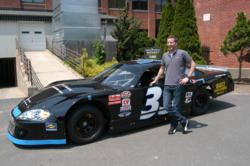 NASCAR drive Pete Thickett, who is donating his 2011 winnings to a family in need