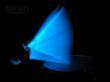 Hiptrix Blue Glow-in-the-Dark Drumsticks