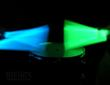 Hiptrix Glow-in-the-Dark Drumsticks (Green and Blue)