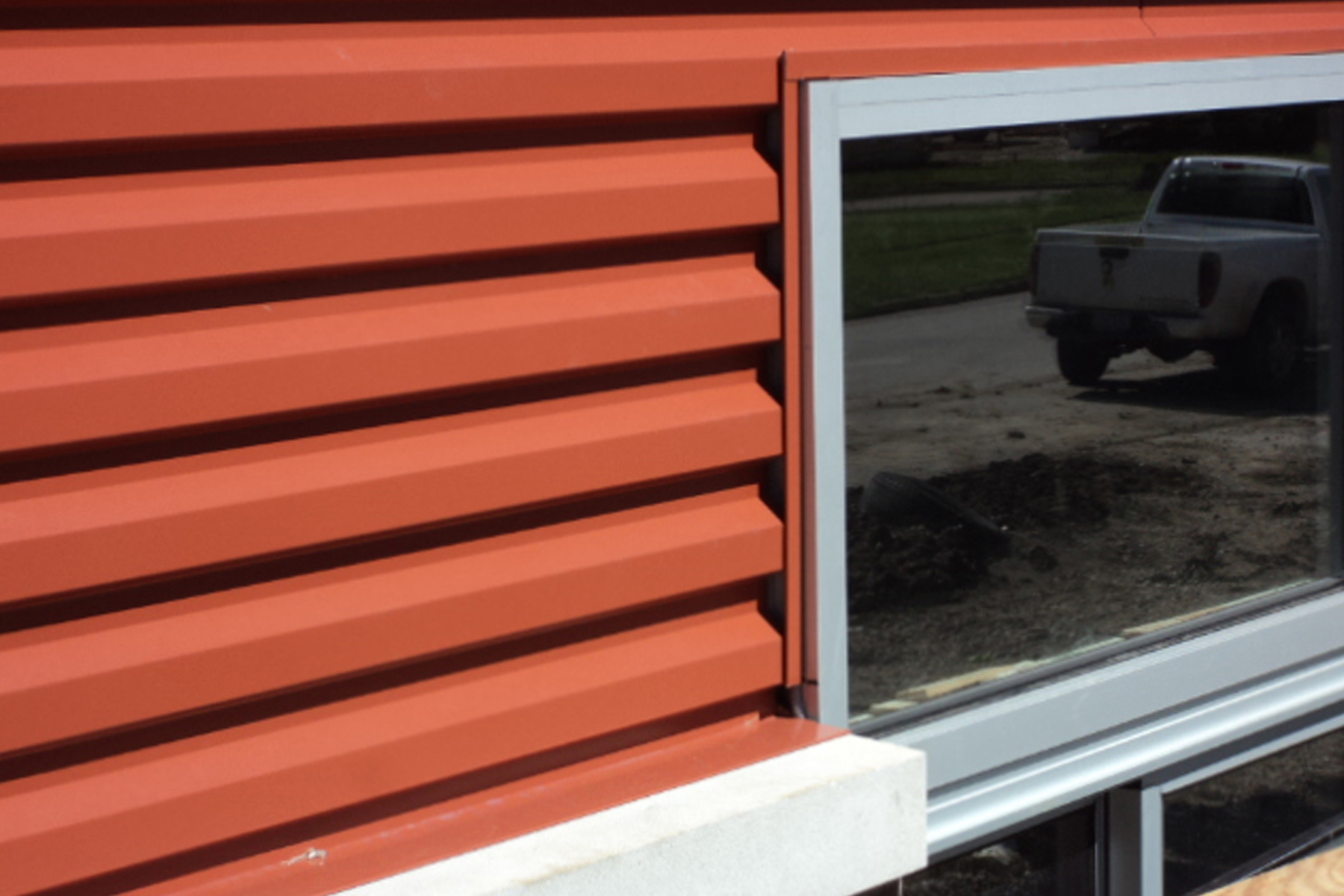 Garland expands architectural options with new horizontal for Horizontal metal siding