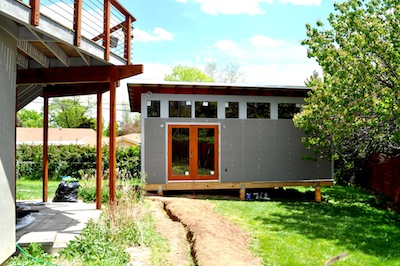 Studio Shed Boasts Three Charms in Home Town Boulder, Colorado