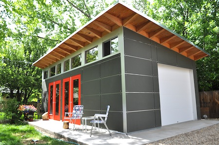 Studio Shed Boasts Three Charms in Home Town Boulder Colorado