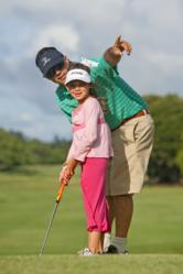 Maui Country Club's golf course is family friendly, and member's children and grandchildren play for free