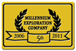 Millennium Exploration Co celebrated its 5th year in business on June 1st 2011