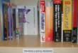 Employees have access to the latest printing educational materials. This library shelf offers pre-press and digital design programs.