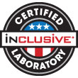 Inclusive Certified Lab Label
