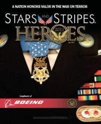 Stars and Stripes 2011 HEROES tells stories of those awarded by the military for valor.