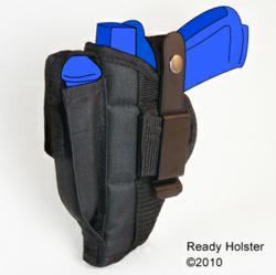 Belt & Clip Side Holster