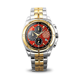 """""""For My Firefighter"""" Chronograph Watch"""