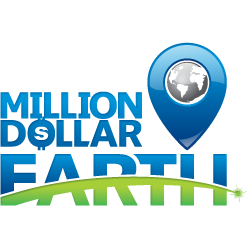 Million Dollar Earth Once City, One Pin, One Opportunity