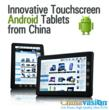Innovative Touchscreen Android Tablets from China