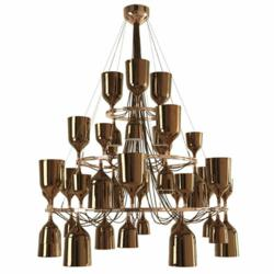 Copacabana Queen Chandelier designed by Jaime Haydon for Metalarte. Available online exclusively at YLighting.