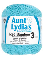 NEW Aunt Lydia's Iced Bamboo Crochet Thread
