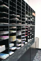 The Mail Master™ sorting stations improved license plate organization, visibility, and accessibility.