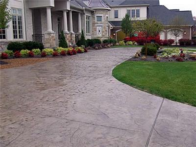 stamped concrete design ideas for last minute summer projects - Concrete Design Ideas