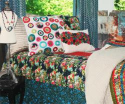 Custom Dorm Bedding and Girl's Dorm Decor from Deck My Dorm