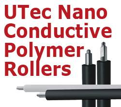 UTec Nano Conductive Polymer Rollers for Laser Cartridges