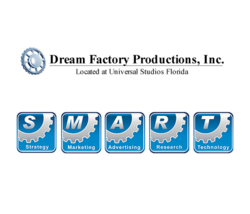 Dream Factory Productions' proprietary S.M.A.R.T. system is designed to generate results for clients using a multi-competency approach.