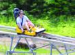 The NEW Mountain Coaster at the Cranmore Adventure Park, North Conway NH.
