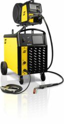 ESAB AristoFeed multi-process welder with chopper technology for MIG, TIF and Stick welding and synergic lines