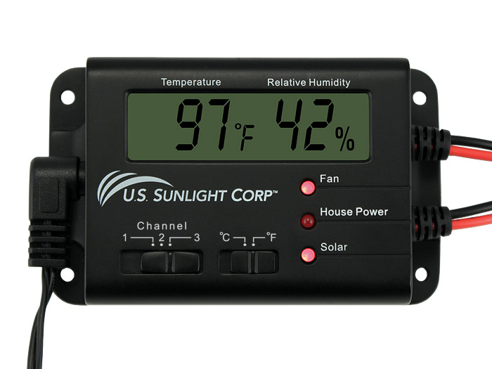 U S Sunlight S Solar Attic Fan And Solar Controller