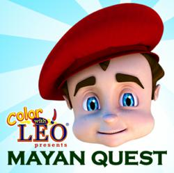 Mayan Quest educational book app for kids.