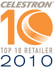 OpticsPlanet Honored as a Celestron Top 10 Dealer