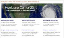 Hurricane Center 2011: The Traveler's Guide to Hurricane Season