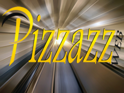 PizzazzWeb background and Logo