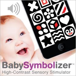 Baby Symbolizer High Contrast Sensory Stimulation Mobile Device App