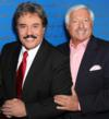 Tony Orlando, Vice Chairman, and Robert H. Book, Chairman of Franklin Mint