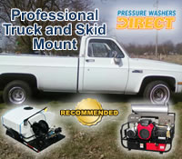 Pressure Washers Direct Announces Best Professional Truck