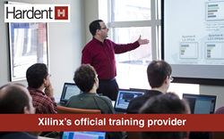 Hardent Electronic Design Training about Xilinx PlanAhead Training Course