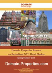 Spring/Summer 2011 Manhattan Hotel Market Report NYC Hotel Real Estate by Domain-Properties.com