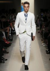 bottega veneta Men's Spring-Summer 2012 white suit