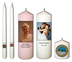 Photo Candles from Goody Candles