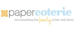 Paper Coterie logo and tagline